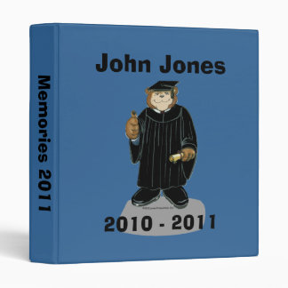 Graduation Binder for Male Graduate