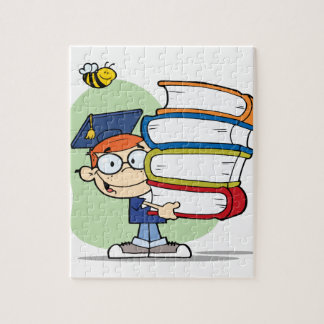 Graduation Boy Jigsaw Puzzle