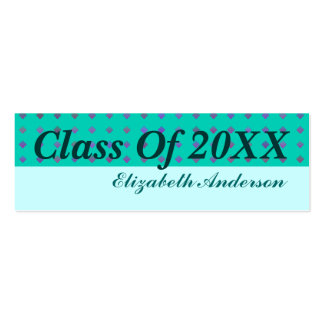 Graduation Double-Sided Mini Business Cards (Pack Of 20)