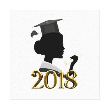 Art Themed Graduation Canvas Print