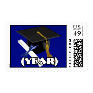 Graduation Cap and Diploma Postage