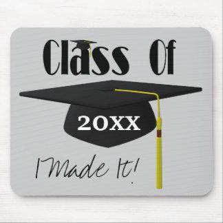 Graduation Cap And Tassel I Made It Cute Mouse Pad