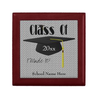 Graduation Cap And Tassel Keepsake Jewelry Box