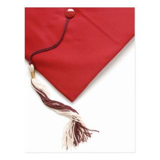 graduation cap and tassel postcard