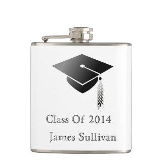 Graduation Cap Class of 2014 Hip Flask