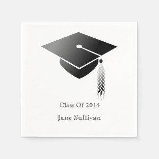 Graduation Cap Class of 2014 Paper Napkins 50