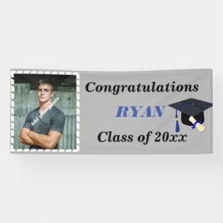 Graduation Cap, Custom Photo, Banner