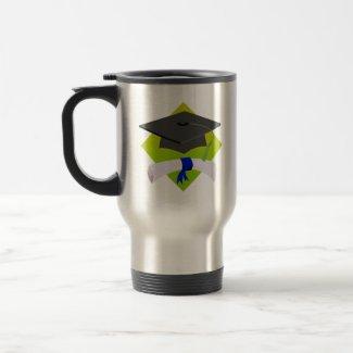 Graduation Cap & Diploma mug