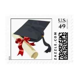Graduation Cap & Diploma Postage
