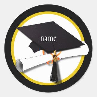 Graduation Cap Diploma Stickers