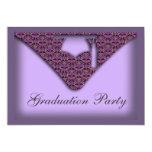 Graduation Cap Party Invitation
