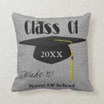 Graduation Cap Personalized Pillow
