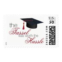 Graduation Cap Postage Stamp