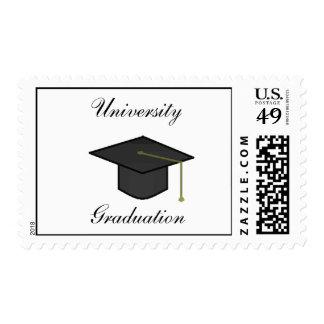 Graduation Cap -postage stamps