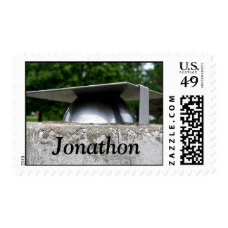 Graduation Cap Stamp