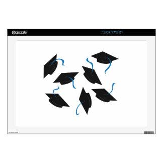 "Graduation Caps Decal For 17"" Laptop"