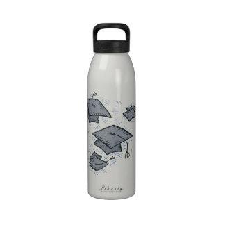 Graduation Caps Reusable Water Bottle