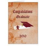 Graduation Card 2010