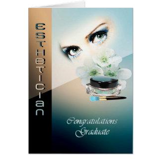 Graduation card for Esthetician