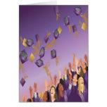 Graduation Card-Purple