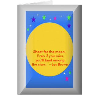 Graduation card with quote