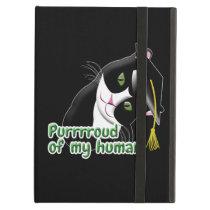 Graduation Cat Case For iPad Air