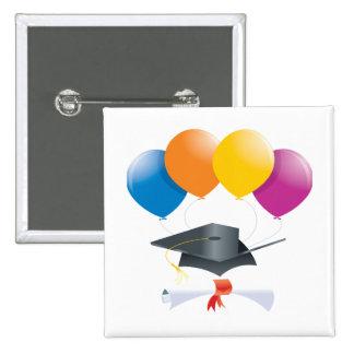 Graduation Celebration 2 Pinback Button