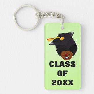 Graduation Celebration: Class of 2016 Seniors Single-Sided Rectangular Acrylic Keychain