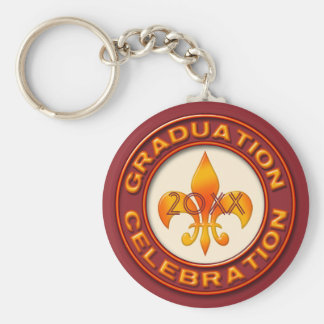 Graduation Celebration Keychain