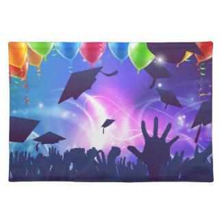 Graduation Celebration Party Cloth Placemat
