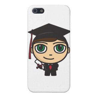 Graduation Character  iPhone 5 Matte Finish Case