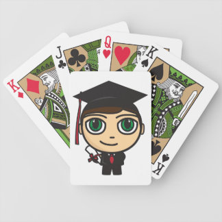 Graduation Character Playing Cards