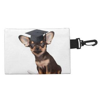Graduation Chihuahua dog Accessory Bag