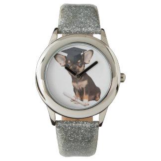 Graduation Chihuahua dog Watches