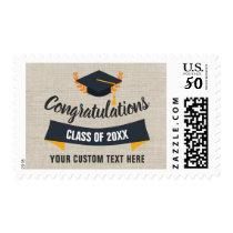 Graduation Class 2018 Congratulations Grad Cap Postage