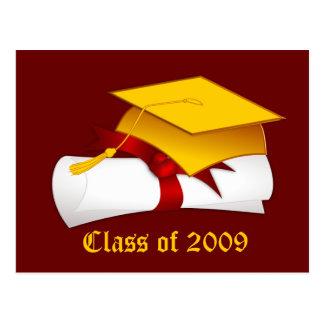 Graduation Class of 2009 Postcard