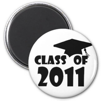 Graduation Class of 2011 2 Inch Round Magnet
