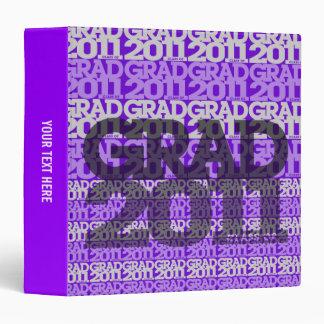 Graduation Class of 2011 Binder Tile Purple
