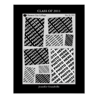 Graduation Class of 2011 Photo Collage 1 Print