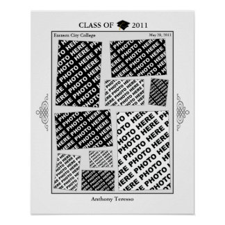Graduation Class of 2011 Photo Collage 2 Poster