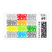 Graduation Class Of 2011 Postage Color