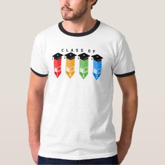 Graduation Class Of 2012 Pencil Cap Colors T-Shirt