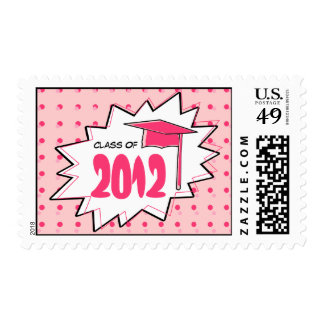 Graduation Class Of 2012 Pop Art Postage