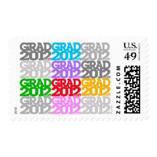 Graduation Class Of 2012 Postage Color
