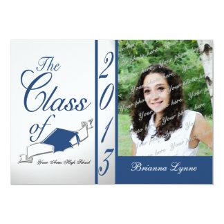 Graduation Class of 2013 Photo Blue Card