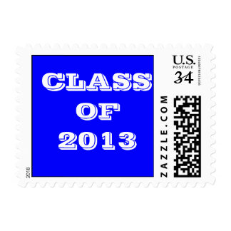 Graduation class of 2013 Postage Stamp