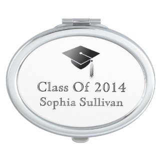 Graduation Class of 2014 Commemorative Compact Vanity Mirror