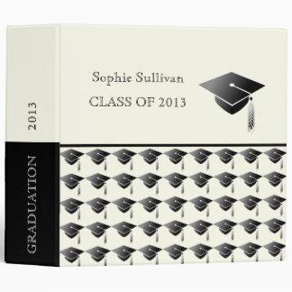 Graduation Class of 2014 With Cap Album 3 Ring Binder
