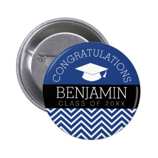 Graduation Class of 2017 Name - U CAN CHANGE COLOR Pinback Button
