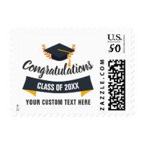 Graduation Class of 2018 Congratulations Grad Cap Postage